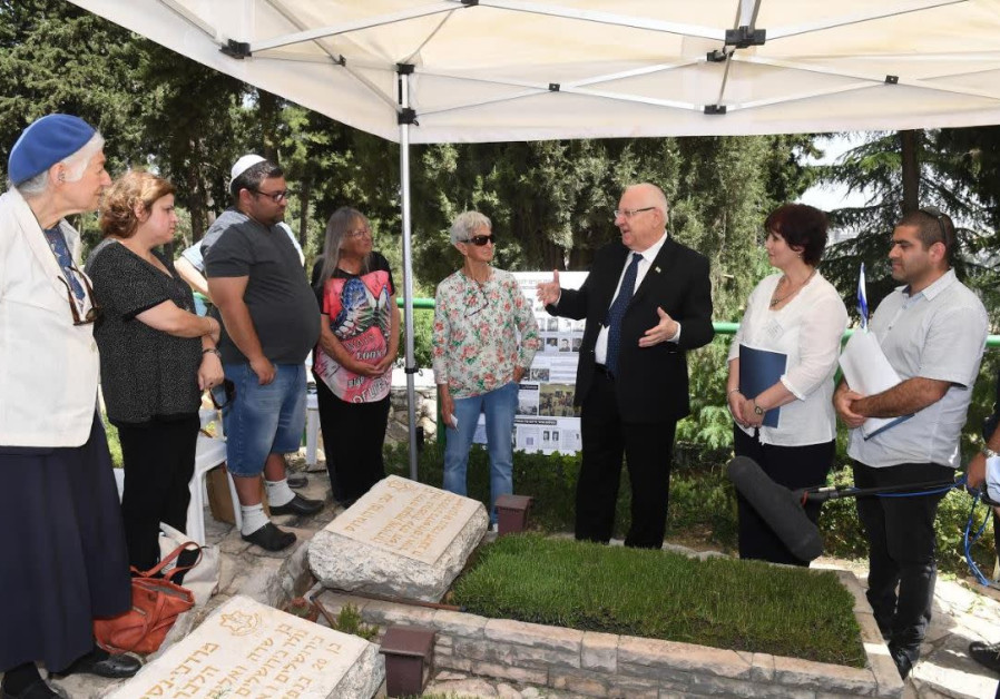 Rivlin honors fallen friend - Holocaust survivor, fought for the state