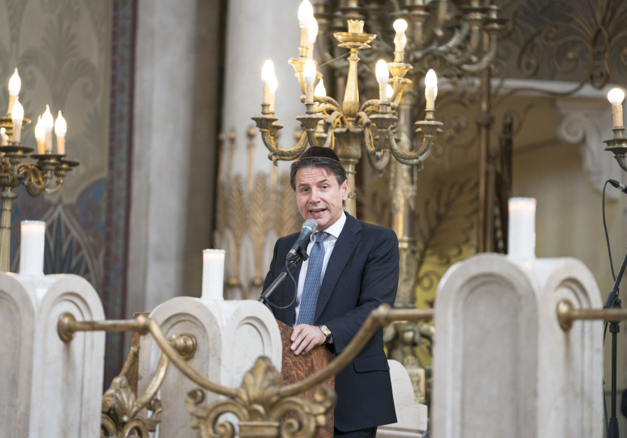 Italian PM: Antisemitism is suicide for the European man