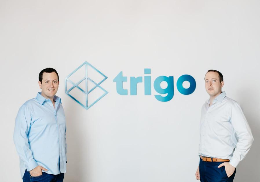 Trigo Vision co-founders Michael Gabay (L) and Daniel Gabay (PR)