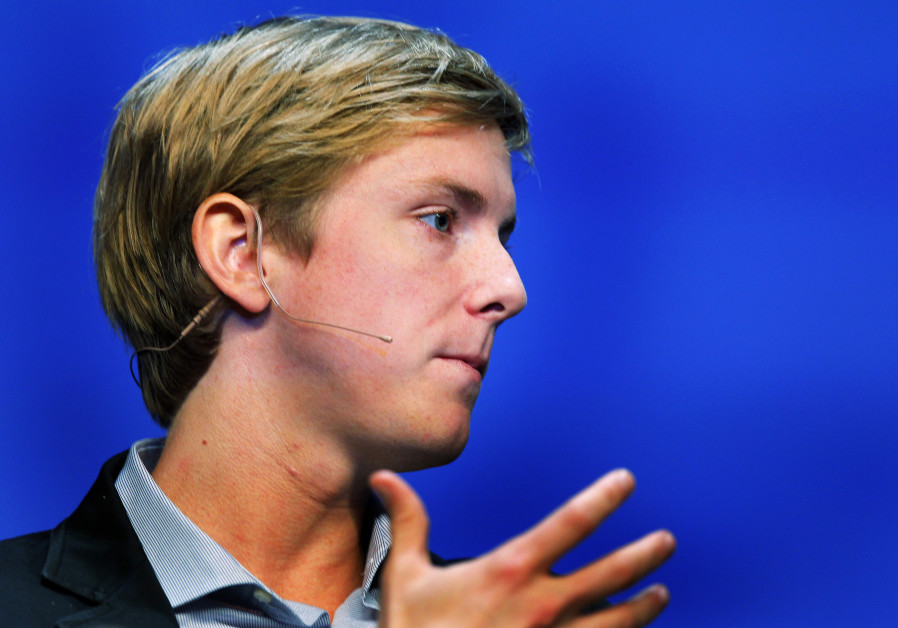 Chris Hughes, co-founder of Facebook, speaks at the Charles Schwab IMPACT 2010 conference in Boston