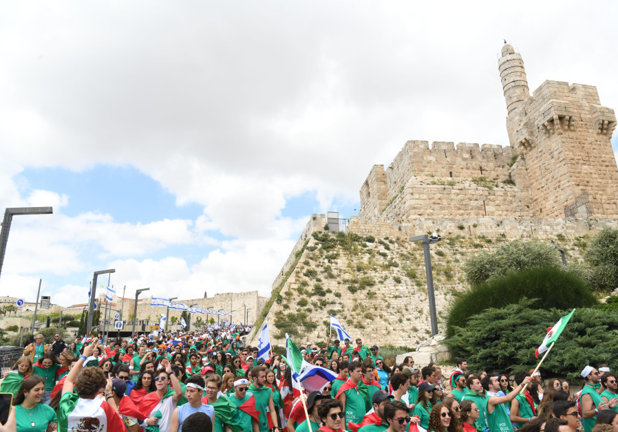 Some 6,000 young people from around the world celebrate Israel's Independence Day