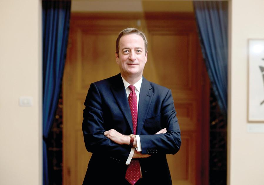 OUTGOING BRITISH Ambassador David Quarrey.