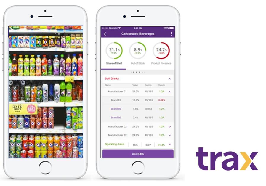 An illustration of Trax Retail's computer vision supermarket solution (Credit: PR)