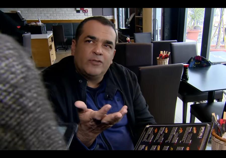 Niv Gilboa at Oshi Oshi Sushi & Bar restaurant in Tel Aviv