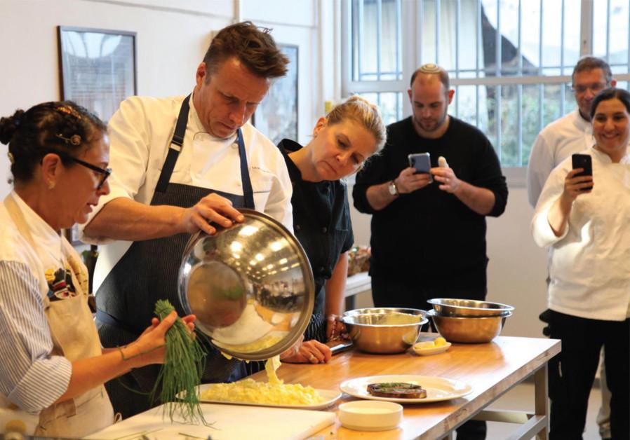 Celebrity chefs get a taste of Israel