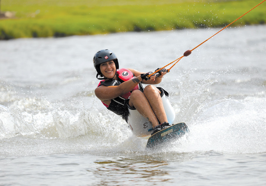 Paralympic athlete Veronica Zvik (photo credit: COURTESY)