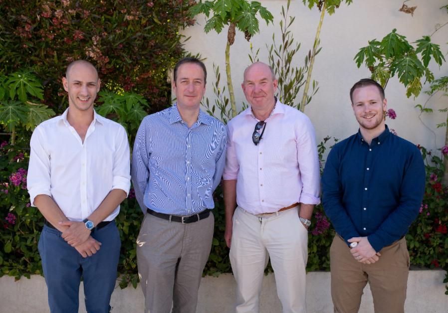 UK Israel Tech Hub healthcare innovation manager, British Ambassador to Israel and NHSA officials