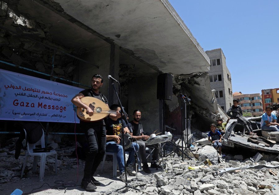 """""""Gaza Message"""" concert in Gaza, May 14, 2019"""
