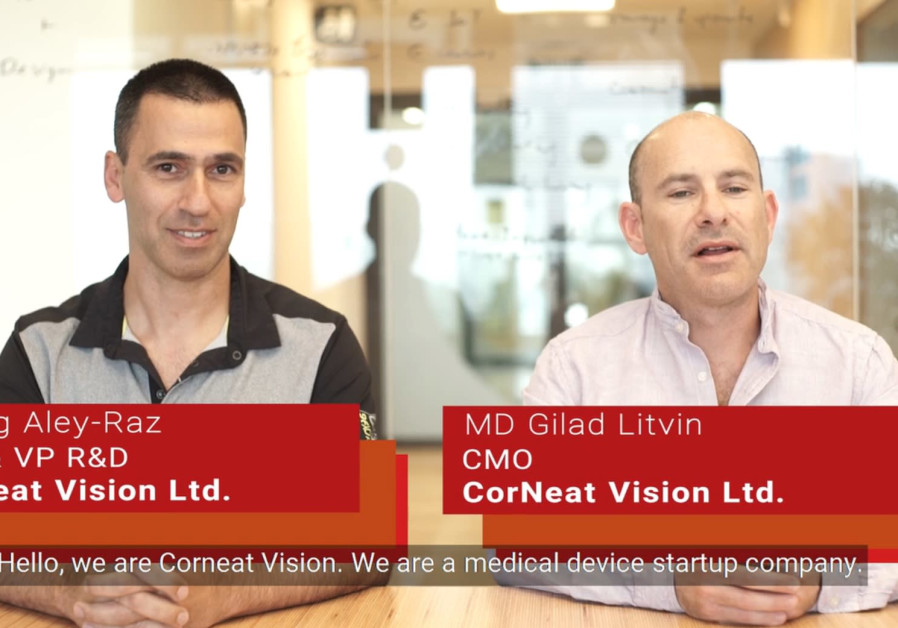 Spotlight on Israeli startups - Corneat Vision - artificial cornea