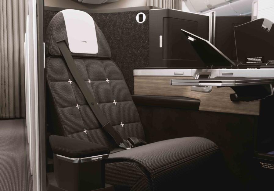 "British Airways' new Airbus A350 Club World cabin ""club suite"""