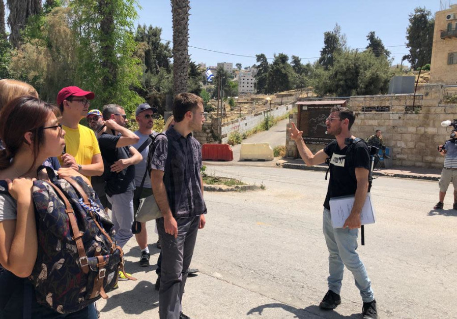 Breaking the Silence gave tours to Eurovision visitors to help understand the situation in Hebron.