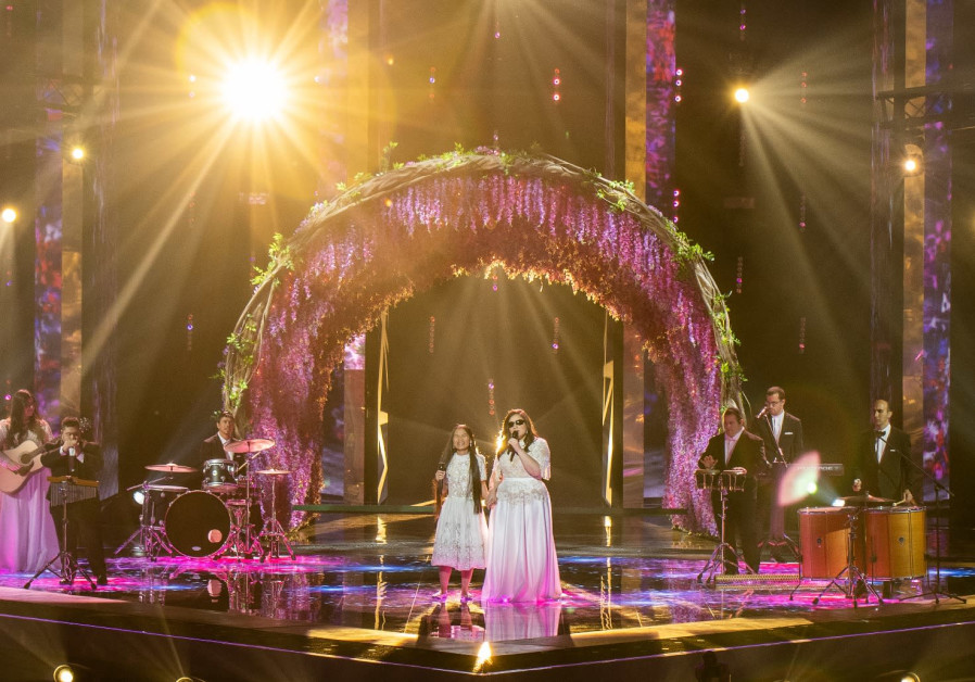 The Shalva Band performs at Eurovision second semi-final.