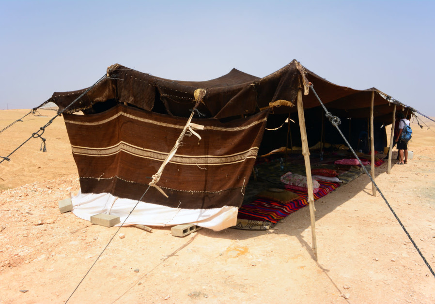 Enjoy Bedouin hospitality with the traditional bitter black Bedouin coffee