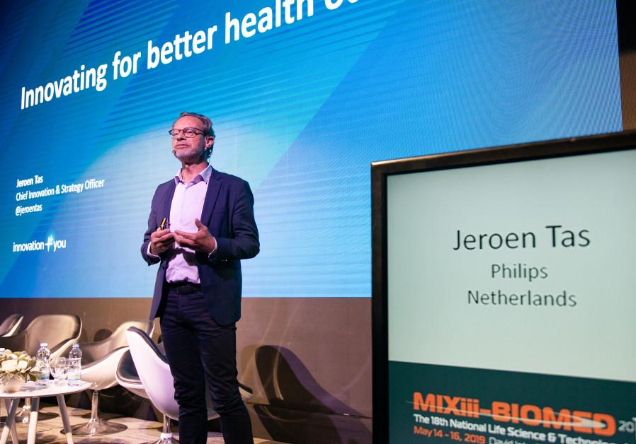 Israel's 'vibrant' innovation scene important for health giant Philips