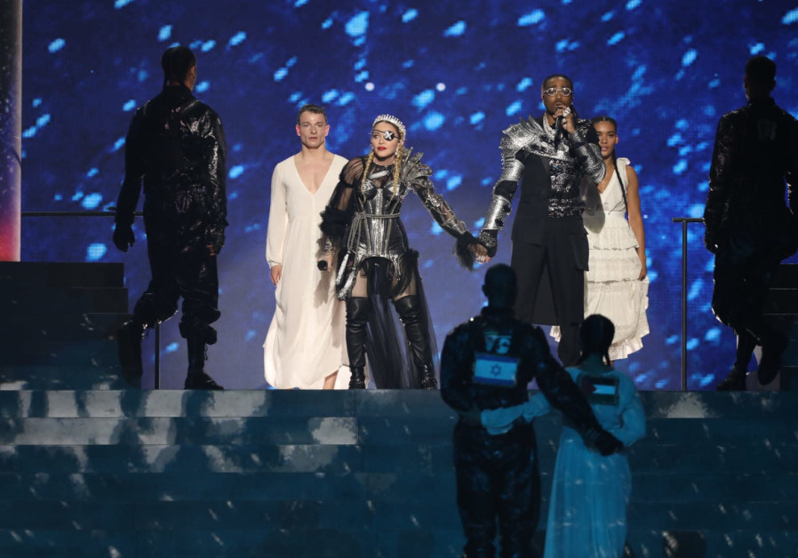 Madonna performs at 2019 Eurovision Song Contest