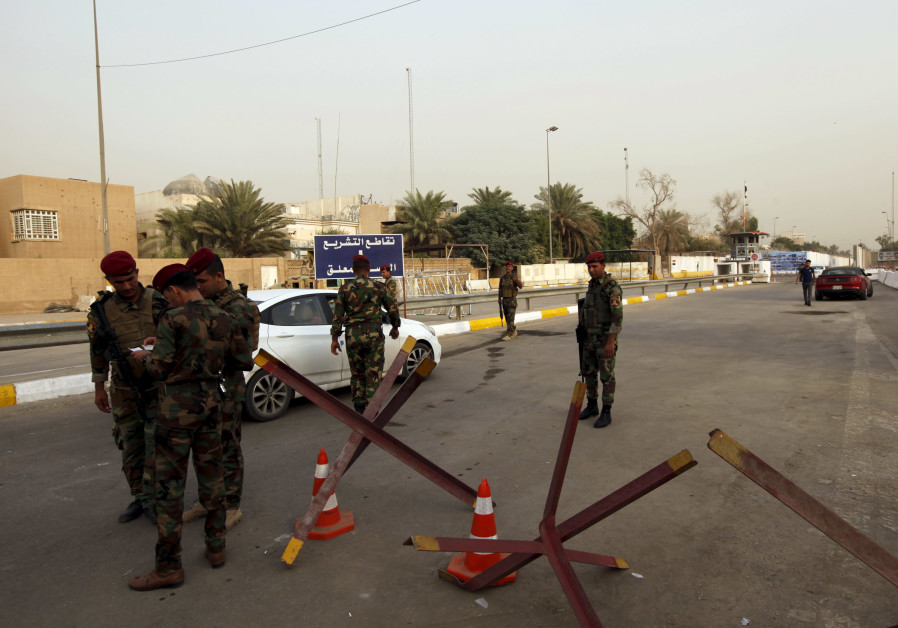 Katyusha rocket falls near U.S. Embassy in Central Baghdad, no injuries