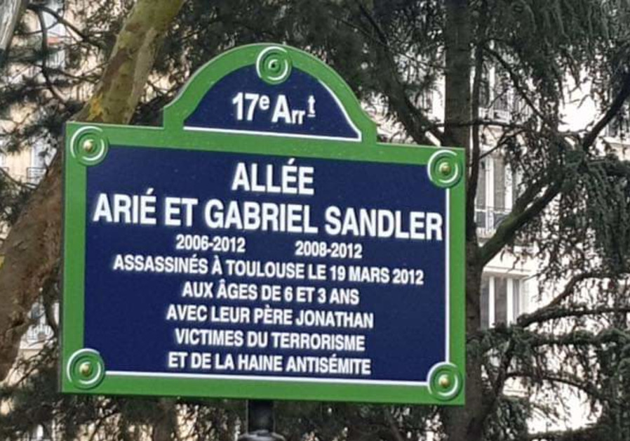Paris streets named after Jewish children killed in 2012 terror attack