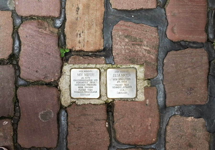 Holocaust memorial stones to be dedicated in Sweden