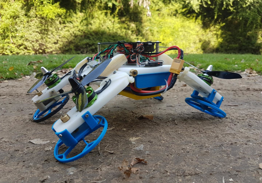 The hybrid FSTAR - flying sprawl-tuned autonomous robot