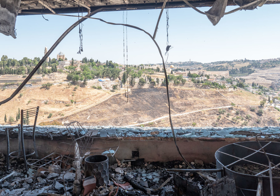 Christian broadcasting studio attacked by arson on Shabbat morning