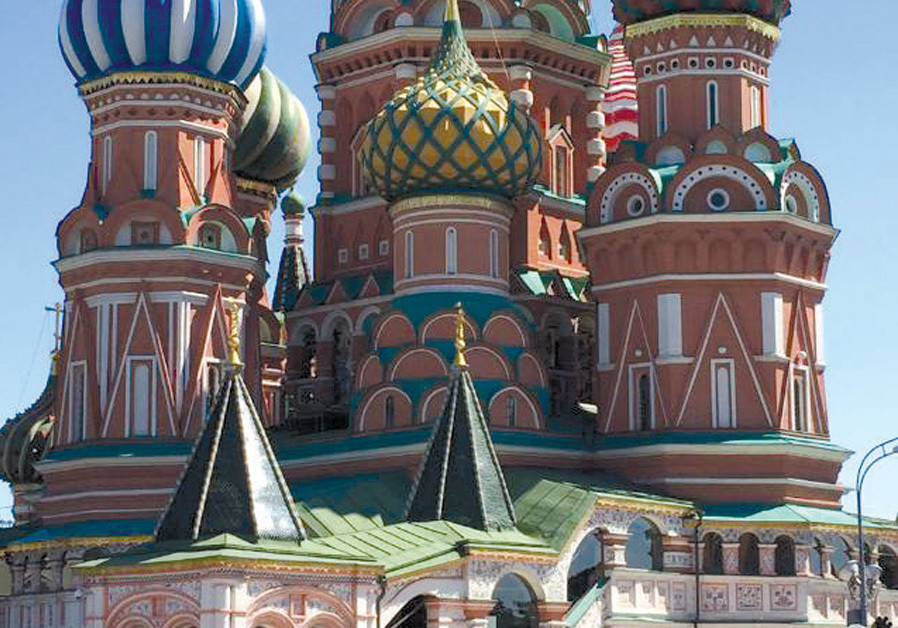THE ICONIC St. Basil's Cathedral in Moscow's Red Square. (Credit: SUSIE WEISS)