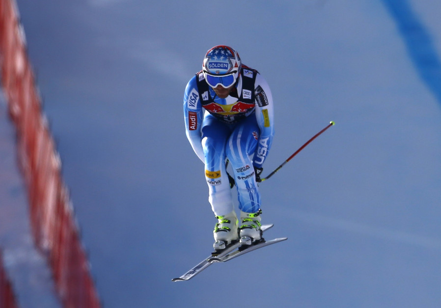 Bode Miller of the U.S. participates in the final training session for the men's downhill event at the FIS Alpine Skiing World Cup in the Austrian alpine skiing resort of Kitzbuehel January 22, 2015 (Credit: LEONHARD FOEGER / REUTERS)
