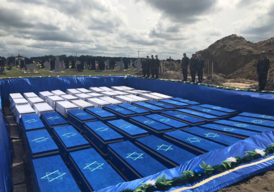 1,214 Belarusian Jews murdered by Nazis get final resting place
