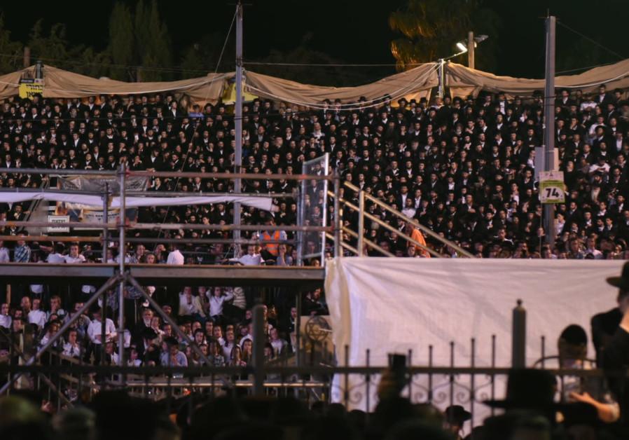 Lag Ba'Omer celebrations in Meron May 22, 2019