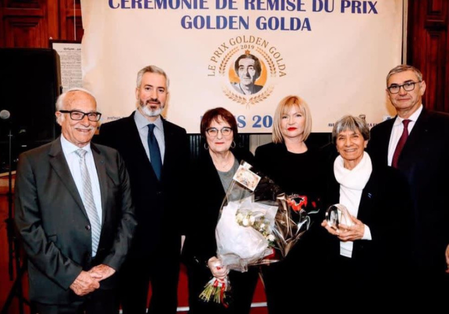 Golden Golda winners in France hope to improve Israeli-French relations
