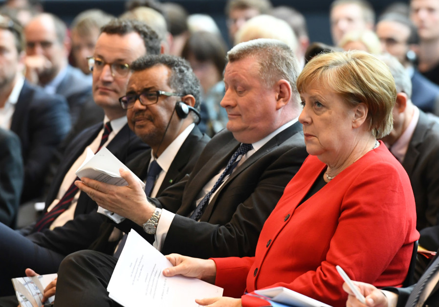 Merkel speaks at CDU/CSU health congress