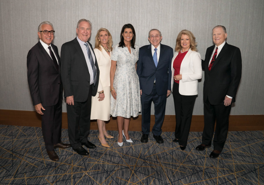Nikki Haley wins Simon Wiesenthal Center award