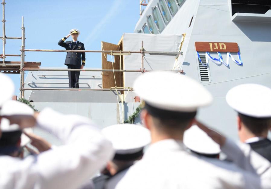 Israeli Navy inaugurates first Saar 6 corvette
