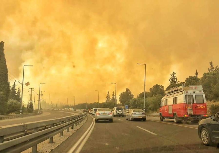 Fire that Destroyed Shlomo Carlebach Moshav is Suspected Arson