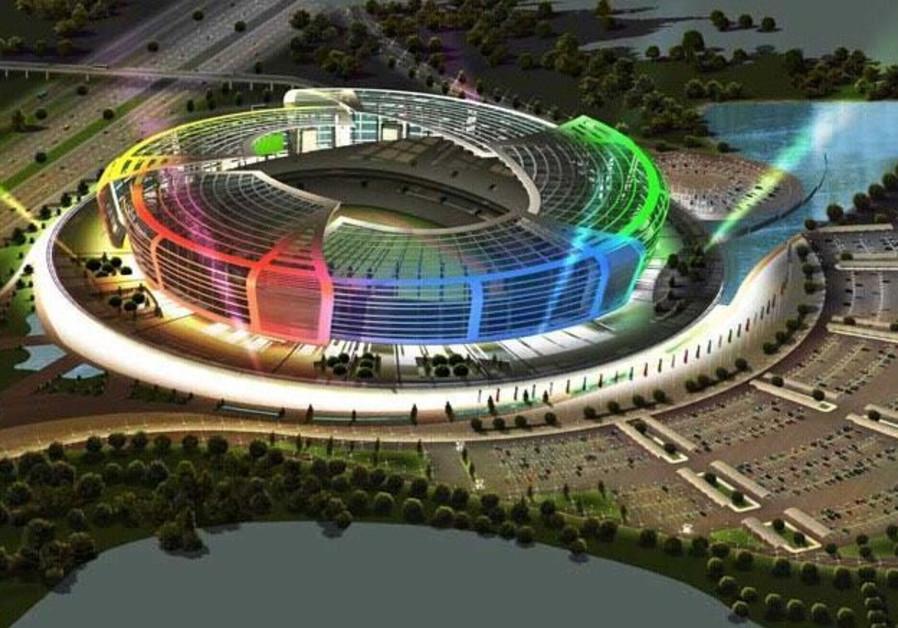 Baku Olympic Stadium, site of Europa League Final. (AZERTAC)