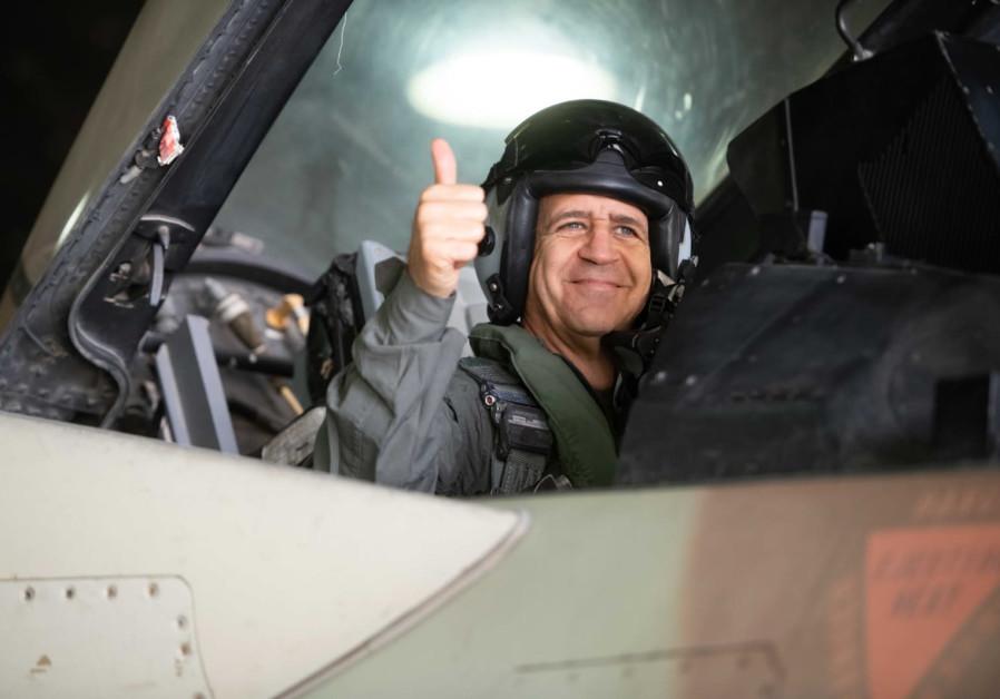 Aviv Kochavi visits the Israeli Air Force