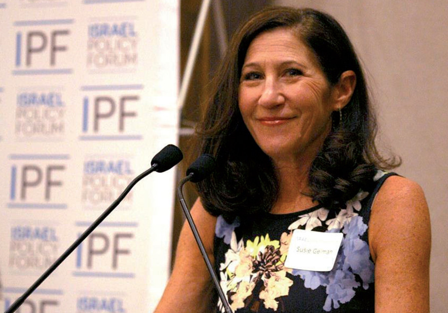 Peace proponent Susie Gelman warns Israel against Trump plan