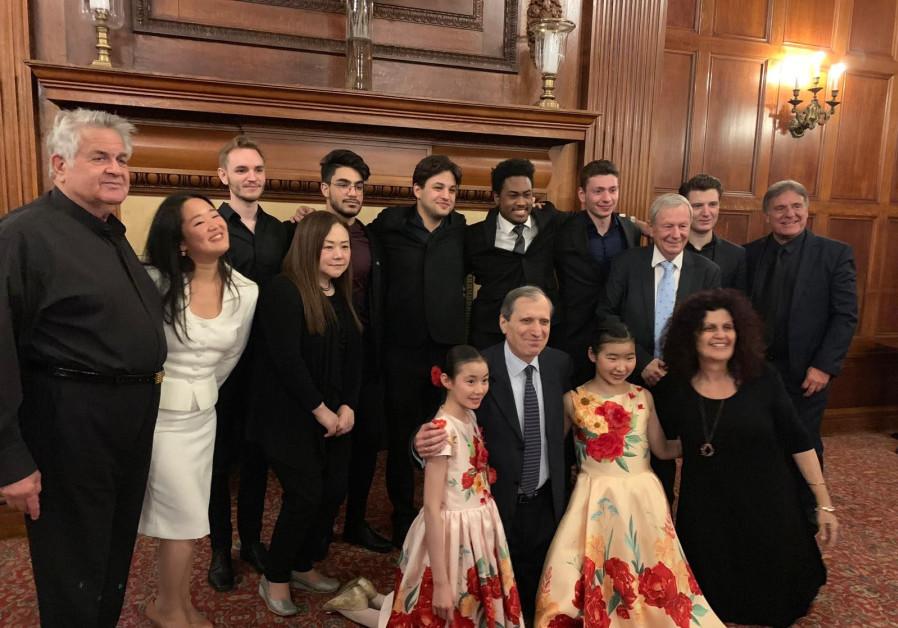 The Keshet Eilon Music Center's fundraising event in New York