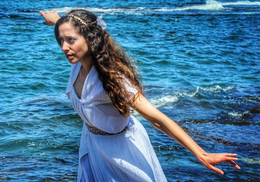 Michelle Adam soars as Ariel (Credit: HANAN SCHOFFMAN)
