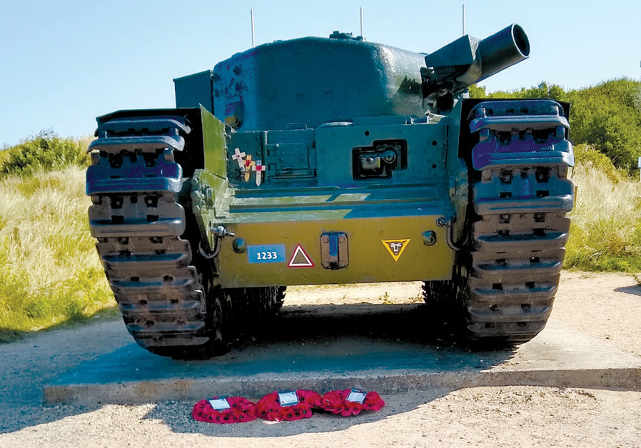THE ONE Charlie tank, belonging to the 26th Armored Engineer Squadron, the seventh Canadian Infantry, is permanently on display at Graye-sur- Mer. (Credit: BRIAN JABLON)