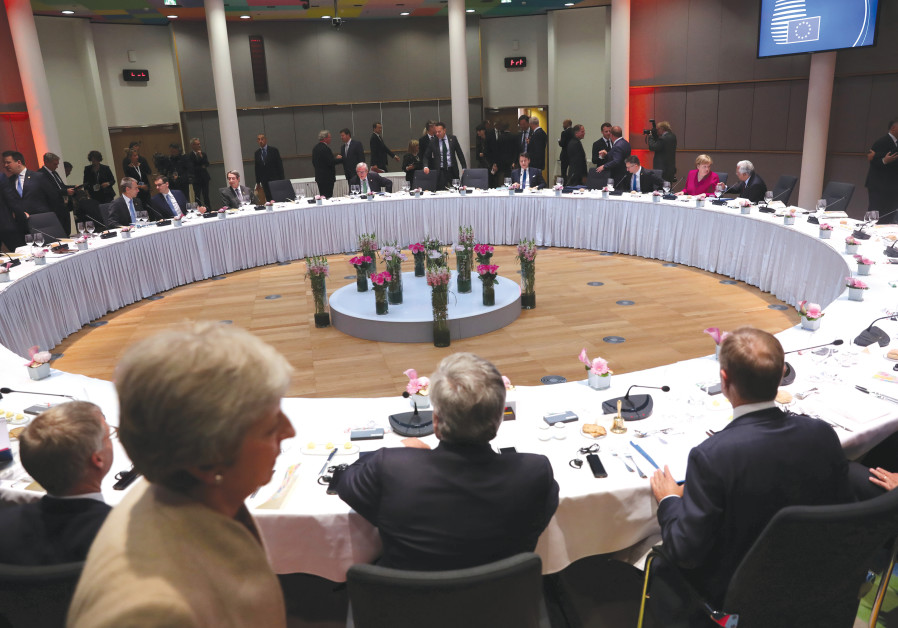 A DINNER meeting at a European Union leaders summit after European Parliament elections.