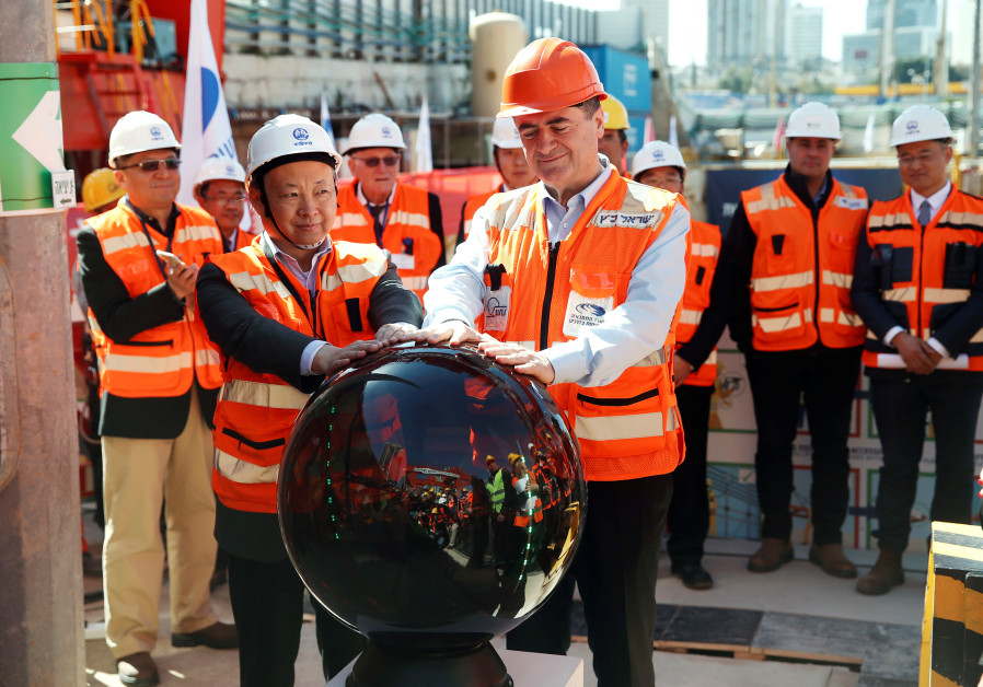 Four Chinese infrastructure giants bid for Tel Aviv light rail tender