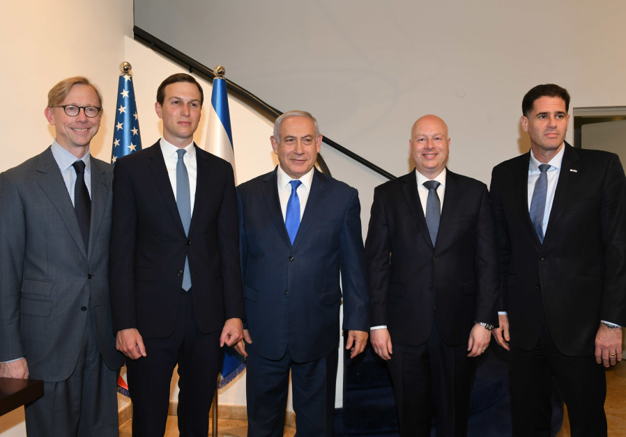 Netanyahu, Trump's advisers discuss USA  peace plan
