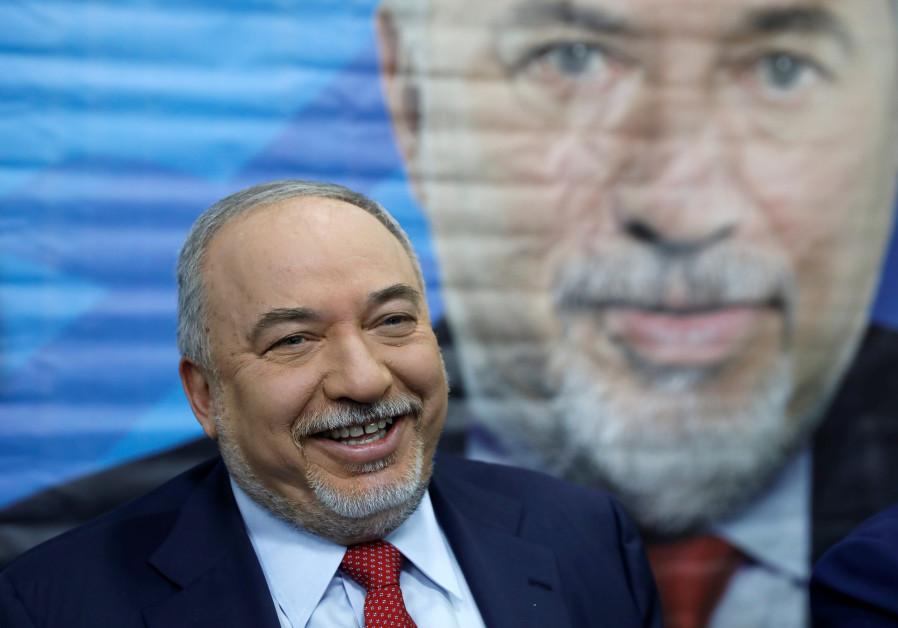 Avigdor Lieberman, former Israeli Defence Minister and head of Yisrael Beytenu party