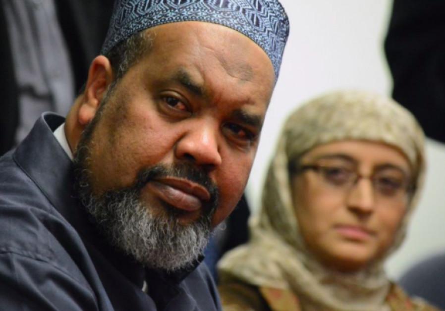 Mohamed Magid, iman of All Dulles Area Muslim Society Center in Sterling, Va., spoke at an evening v