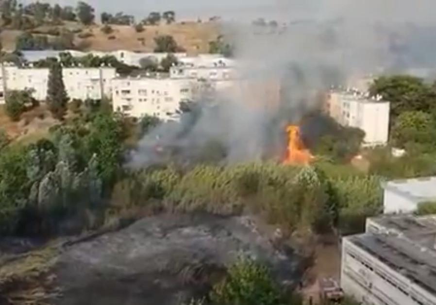 Following blaze in Kiryat Shmona, residents return to their homes