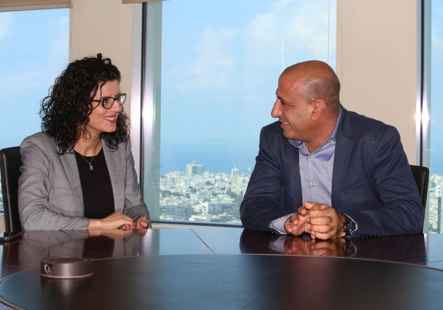 Nasreen Hadad Haj Yahya and Aiman Saif