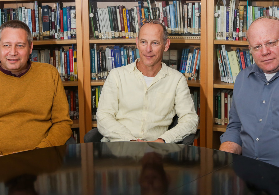 Prof. Raanan Sulitzeanu-Kenan, Prof. Daniel Statman and Prof. Amichai Cohen