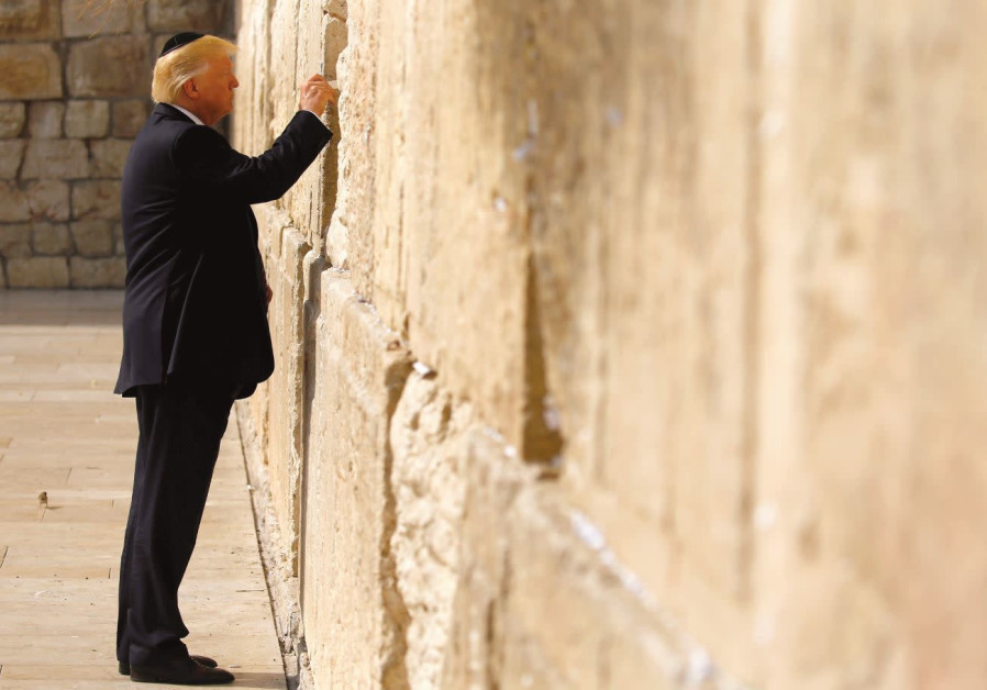 Washington Watch: Donald, melech Yisrael