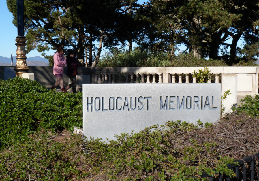 Holocaust Memorial in San Francisco Lincoln Park.