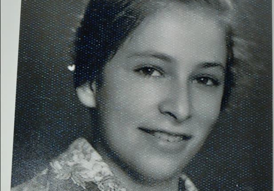 Nechama Rivlin as a young girl (Courtesy of Rivlin family)